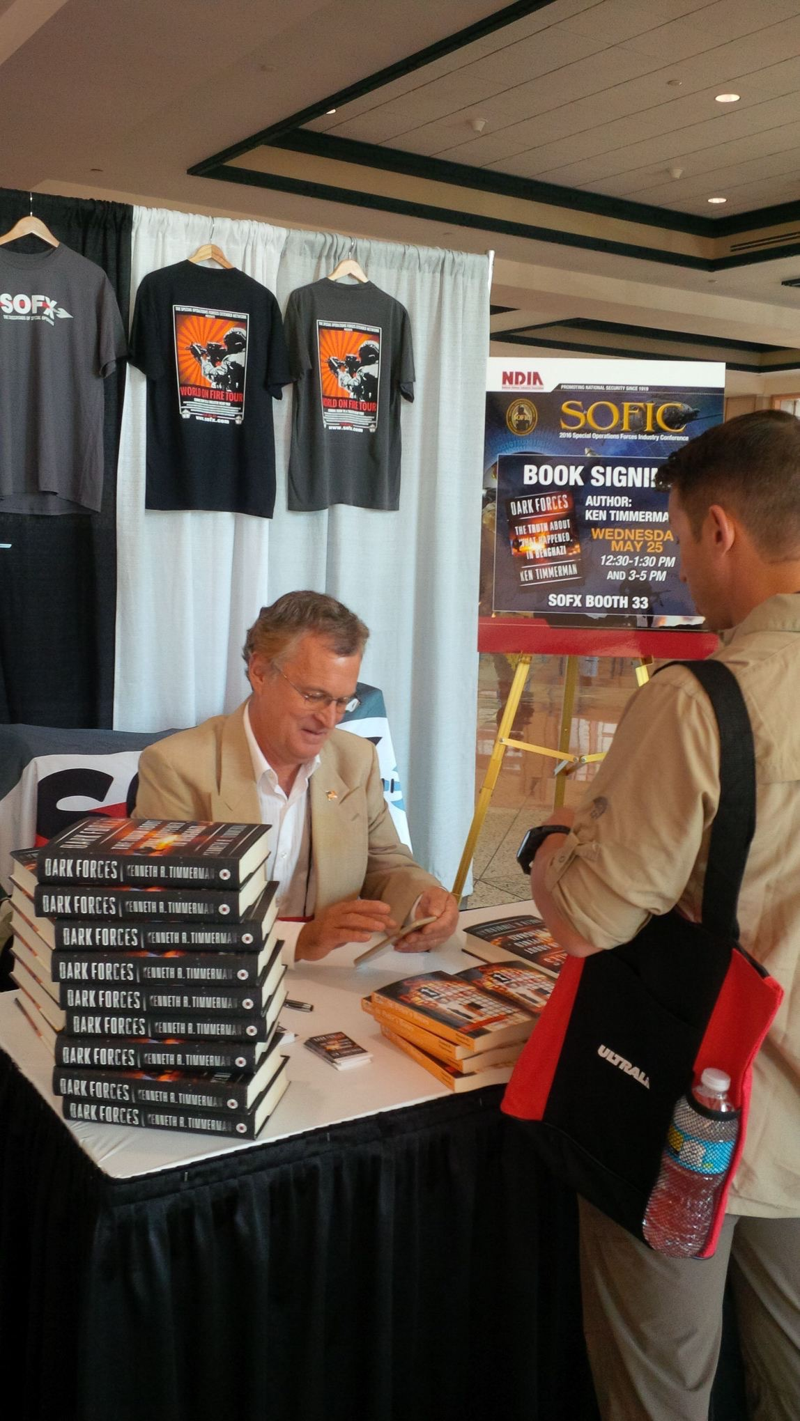 SOFIC                           book-signing in Tampa, FL